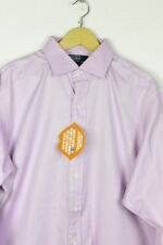 Mens RALPH LAUREN Shirt REGENT CLASSIC FIT Long Sleeve 17 COLLAR Excellent  P35