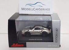Schuco 1/87 (H0): 26307 Porsche 911 Gt3 Rs, Silver/ Black