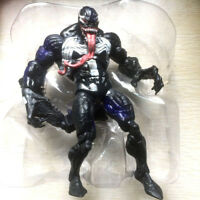 "rare Marvel Legends VENOM Spider-man w/ tail 6"" exclusive hasbro Figure collect"