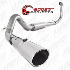 """MBRP 4"""" TURBO BACK STAINLESS EXHAUST 1999-2003 FORD 7.3L F250 F350 S6200409"""