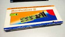 COMMODORE AMIGA ALFA DATA MULTIFACE CARD 3 CDTV 500 1200 2000 3000 4000 C64 C65
