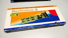 Commodore Amiga alfa data Multiface card 3 CDTV 500 1200 2000 3000 4000 c64 c65
