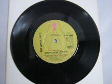 "Vinyl Record 7"" Single THE JONES GIRLS YOU MADE ME LOVE YOU PROMO COPY (R)"