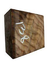 "Beautiful Indian Rosewood Bowl Blank, Turning Wood Block 6""x6""x3"" , #138"