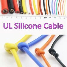 Cable de Silicona ul 2/4/6/7/8/10/11/12/13/14/15/16/17/18/20/22/24/26/30AWG 0.08mm