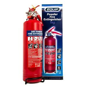 Equip Fire Extinguisher 1kg gauge ABC Powder Car Taxi Boat CE Kite Marked