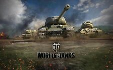 World of Tanks Invite Code T2 Light, 1000 Gold + 7 Tage Premium (Warships Key 2)