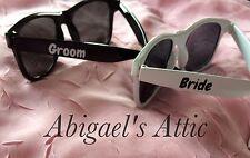 Personalised Sunglasses - Wedding - Bride Groom - Honeymoon