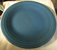 "NEW with TAG FIESTA FIESTAWARE Lapis Blue 10"" Dinner Plate Homer Laughlin"