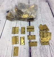 """75 Metal Hinges National Lock (NL Co.) - 1.5"""" x 1.25"""" / Small 4 Hole"""