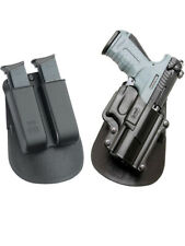 Fobus retention paddle Holster + Double magazine mag pouch for Walther p22