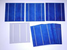 40 POLY-CRYSTALLINE SOLAR CELLS 15.6 % EFF. 3BB( BUSS BARS) THICK CELLS ( #191)