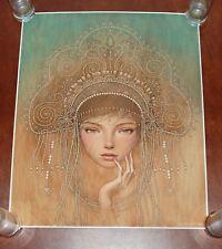 Audrey Kawasaki Charlotte Charlotta Art Print Poster S/# 200 Giclee Amy Sol