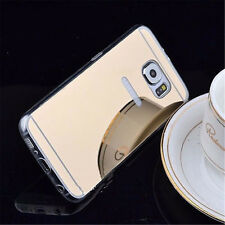 For Samsung Galaxy S8/S9 Phone Luxurious Aluminum Metal Mirror Case Back Cover