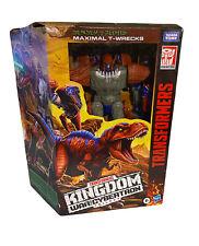 Transformers Generations War For Cybertron Kingdom Leader Maximal T-Wrecks