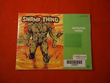 Swamp Thing Nintendo NES Instruction Manual Booklet ONLY