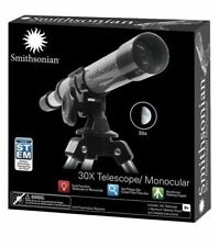 Smithsonian 30X Telescope/Monocular Kit With Tripod