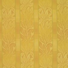Barbados Sunlight Yellow Gold Leaf Stripe Crypton Upholstery Fabric 0405544