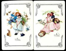 NORMAL ROCKWELL SWAP CARD PAIR LADY AND MAN NEW
