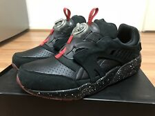 Puma x Trapstar Disc Blaze US11 Black Mens Leather Sneakers