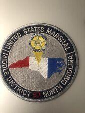 North Carolina  Police - USM NC Middle District  NC Police Patch