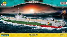 COBI Battleship ORP ORZEL / 4808 / 1240 blocks WWII Small Army Polish ship toys