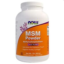 Now Foods MSM Powder - 454g - Joint Sulfur for Connective Tissue & Cartilage