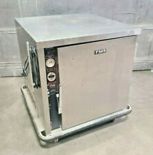 Fwe Stainless Mobile 1 Door Heated Holding Cabinet Model Uhs 4