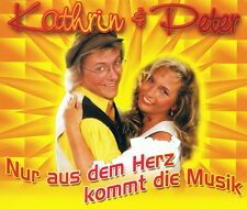 Kathrin & Peter - Nur aus dem Herz Kommt die Musik- CD Single NEU