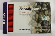 Pack of 12 Ballograf Flipchart Markers Red Bullet Tip, W4B
