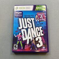 Just Dance 3 (Microsoft Xbox 360)Kinect  Mulitiplayer Interactive Dance Game