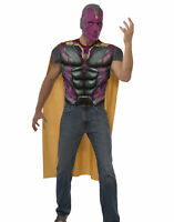 RUBIES MARVEL Avengers Age of Ultron Vision Costume Halloween Men Adult L NEW