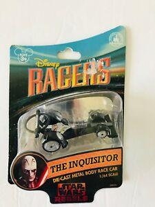 Star Wars Rebels Disney Racers The Inquisitor Die-Cast Metal Body Race Car