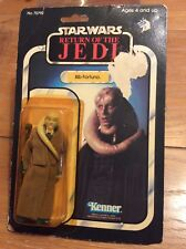 Vintage Kenner Star Wars BIB FORTUNA MoC ROTJ 65-Back Mint On Card A
