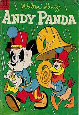 Walter Lantz Andy Panda #27 GD+ 2.5 1954 Dell See my store
