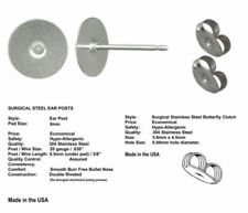 Stainless Steel Earring Findings