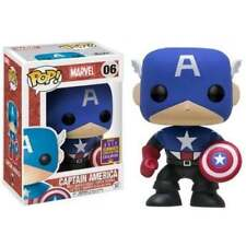 Captain America Pop Vinyl Comic Book Heroes Action Figures