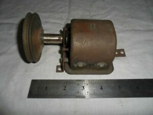 BRASS 2 GANG TUNING CAPACITOR From a Vintage Radio