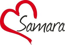 "Auto Aufkleber "" Samara "" Sticker Russland ca.9x13cm konturgeschnitten"
