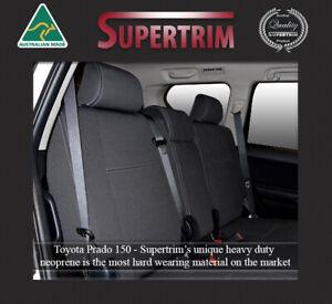 Premium Neoprene Waterproof Wetsuit REAR Seat Cover Fits TOYOTA PRADO 150 Series