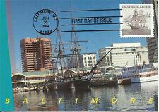 USS Constellation Navy Sailing Ship FDC USA Maximum Card Scott #3869