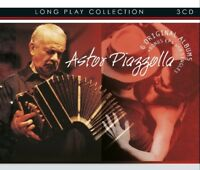 ASTOR PIAZZOLLA - LONG PLAY COLLECTION 6 ORIGINAL ALBUMS + BONUS ... 3 CD NEW!