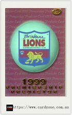 1999 Select AFL Trading Cards Holofoil Premiership Predictor Card PC2 Brisbane