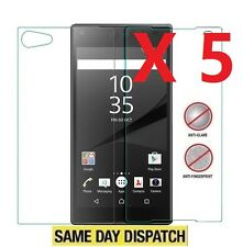 Anti-Glare Matte 5 Front & Back full Screen Protectors Film for Sony Xperia Z5
