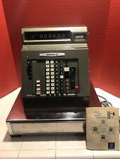 Sweda Cash Register Model 46 Rare Vintage, Comes With Manuals, Cover And Keys