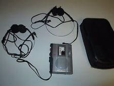 Working SONY TCM-200DV VOR Clear Voice Handheld Cassette Tape Recorder