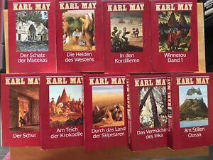 """""""Karl May"""" Bundle Konvolut 9 Bände, Abenteuerromane, TB-Format"""