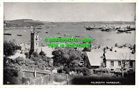 R497386 Falmouth Harbour. Postcard