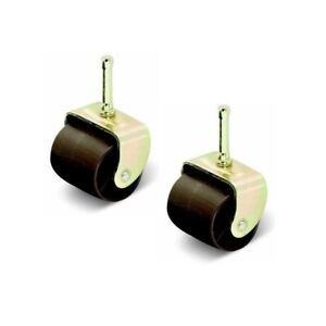 """2-1/4"""" Wide Bed Casters, Set of 2"""
