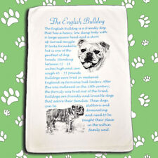English Bulldog Dog Origins Breed Microfibre Large Cleaning Cloth - Ideal Gift